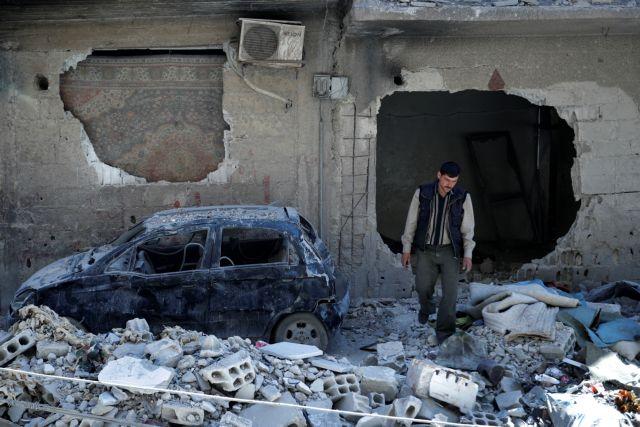 Russia24: Σκηνοθετημένη η επίθεση με χημικά στην Ντούμα   tovima.gr