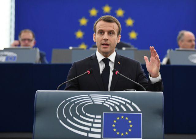 Μακρόν: Απάντηση στον αυταρχισμό, η κυριαρχία της δημοκρατίας | tovima.gr