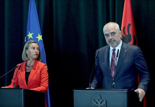 Ράμα: Ιστορικής σημασίας η έναρξη ενταξιακών διαπραγματεύσεων με την ΕΕ | tovima.gr