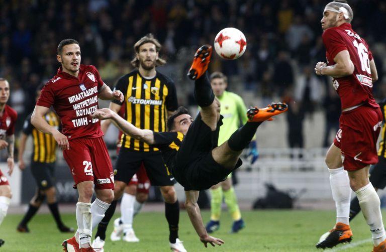 Ημιτελικός Κυπέλλου Ελλάδος: ΑΕΚ – Λάρισα 1 – 0 – Στον τελικό η Ενωση | tovima.gr
