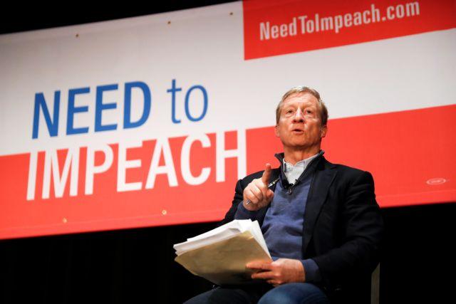 Τομ Στάγερ: Ο εκκεντρικός οικολόγος που θέλει να διώξει τον Τραμπ | tovima.gr