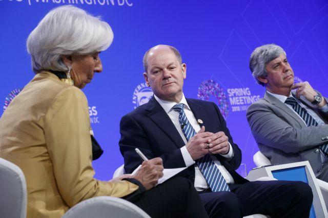 Battle of the Titans: IMF, Berlin spar over Greek debt relief | tovima.gr