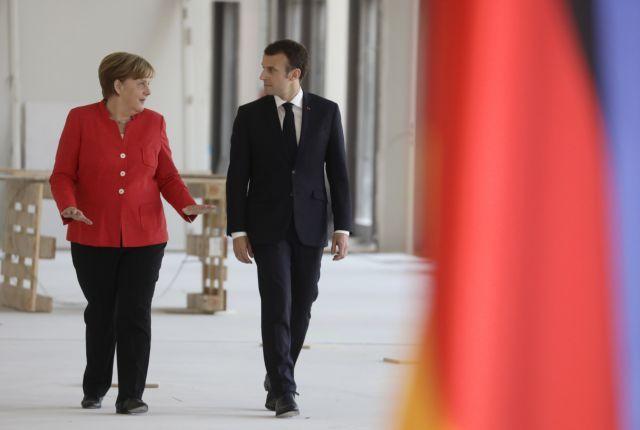 Φρένο Μέρκελ στα σχέδια Μακρόν για την αναγέννηση της Ευρώπης | tovima.gr