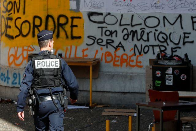 Γαλλία: Η αστυνομία διέλυσε την κατάληψης στην Τολμπιάκ   tovima.gr