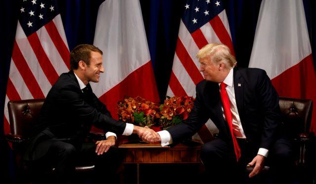 G7: Σύντομη και «εγκάρδια» συζήτηση Τραμπ – Μακρόν | tovima.gr