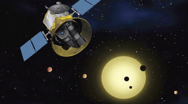 TESS κυνηγός πλανητών αναλαμβάνει δράση | tovima.gr
