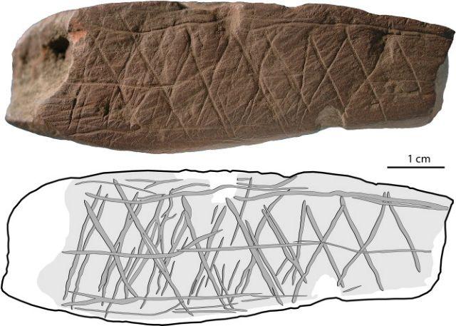 Σκαλίσματα ή τέχνη τα σχέδια σε πανάρχαιες πέτρες; | tovima.gr