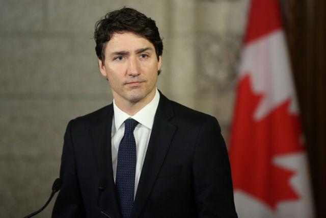 Ο Τριντό ζητά από τους Καναδούς να «μην ζουν μέσα στο φόβο» | tovima.gr