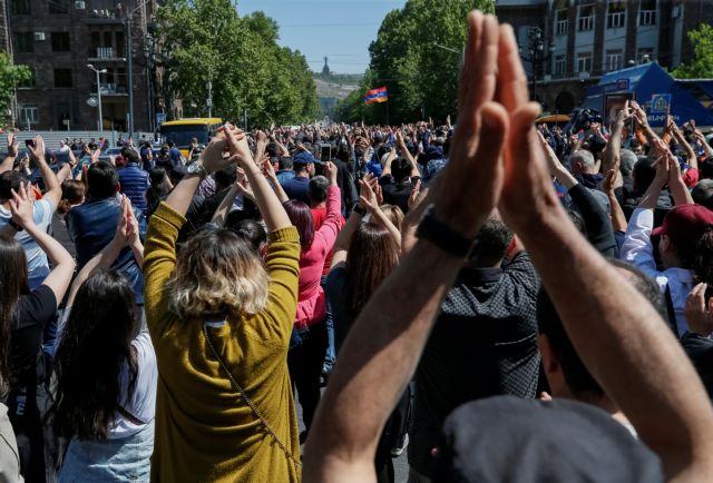 Αρμενία: Συνεχίζεται η πολιτική κρίση και οι κινητοποιήσεις | tovima.gr