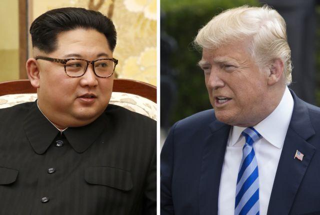 Την σύνοδο κορυφής Τραμπ-Κιμ στηρίζουν οι ΗΠΑ | tovima.gr