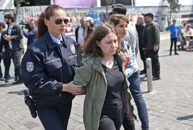 Τουρκία: 84 συλλήψεις διαδηλωτών στην Κωνσταντινούπολη | tovima.gr