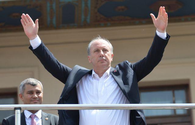 «Ας αναμετρηθούμε σαν άνδρες» κάλεσε τον Ερντογάν ο Ιντζέ | tovima.gr
