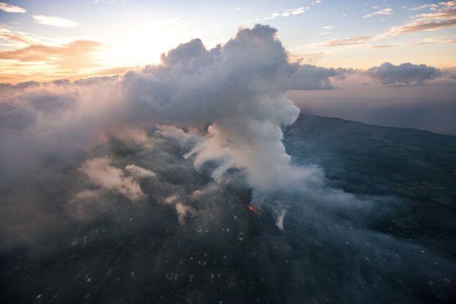 «Βρυγχάται» το ηφαίστειο Κιλαουέα στην Χαβάη | tovima.gr