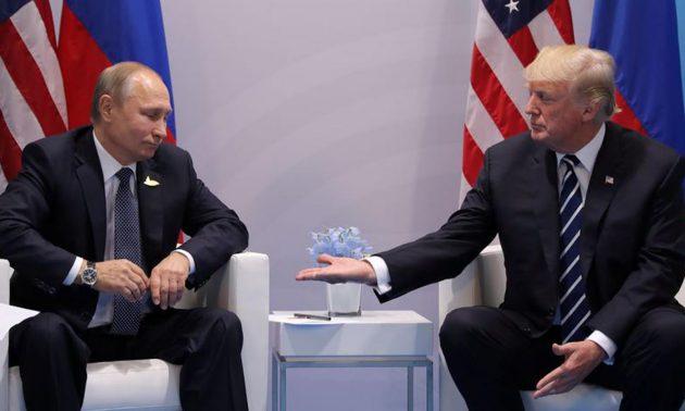 Συγχαρητήρια Τραμπ στον Πούτιν με… υποδείξεις | tovima.gr