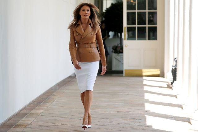 Τι συμβαίνει με την πρώτη κυρία των ΗΠΑ Μελάνια Τραμπ; | tovima.gr