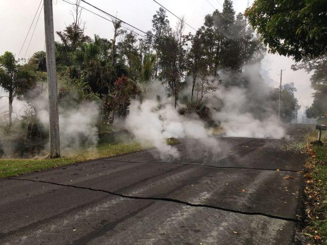 Χαβάη: Νέες ρωγμές στο έδαφος από το ηφαίστειο Κιλαουέα   tovima.gr