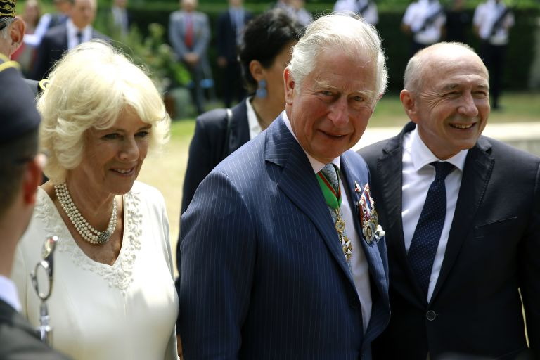 Prince Charles, Duchess of Cornwall on official visit to Greece | tovima.gr