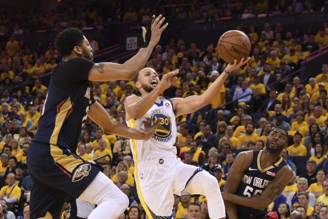 NBA: Στους τελικούς της δύσης οι Ουόριορς και οι Ρόκετς | tovima.gr