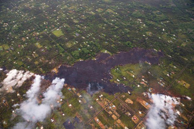 Χαβάη: Η λάβα απειλεί εργοστάσιο ηλεκτρικής ενέργειας   tovima.gr