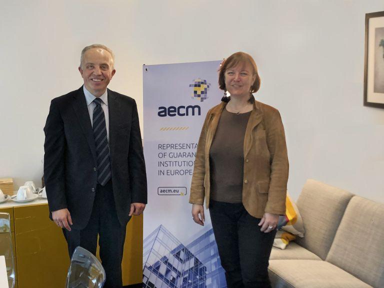 Υποψήφιο μέλος του Διεθνούς  Οργανισμού Εγγυοδοσίας (AECM) το ΤΜΕΔΕ   tovima.gr