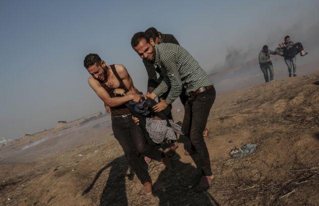 Αυξάνονται οι νεκροί Παλαιστίνιοι στην Γάζα – Εφτασαν τους 61 | tovima.gr
