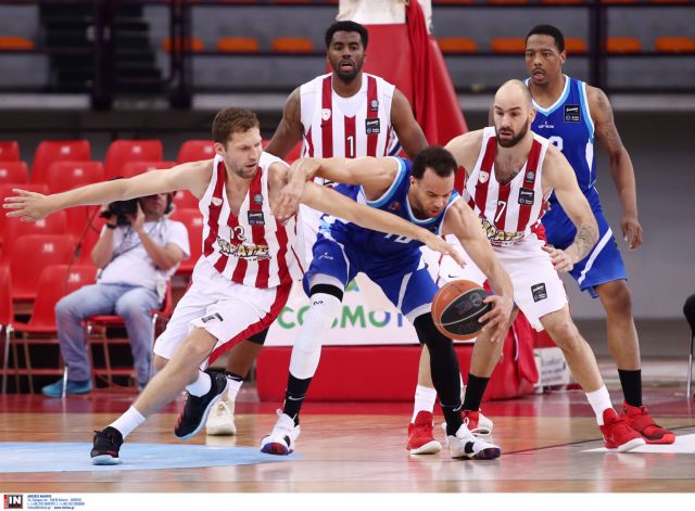 A1 μπάσκετ – ανδρών: Δύσκολη νίκη του Ολυμπιακού επί της Κύμης | tovima.gr