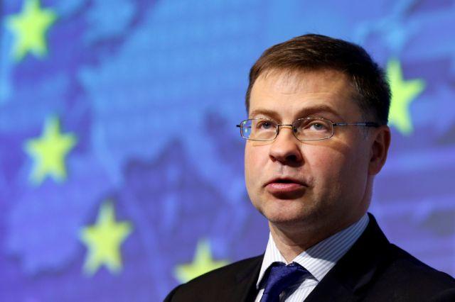 Ντομπρόβσκις: Καλεί την Ιταλία να ακολουθήσει «μια λογική δημοσιονομική πολιτική» | tovima.gr