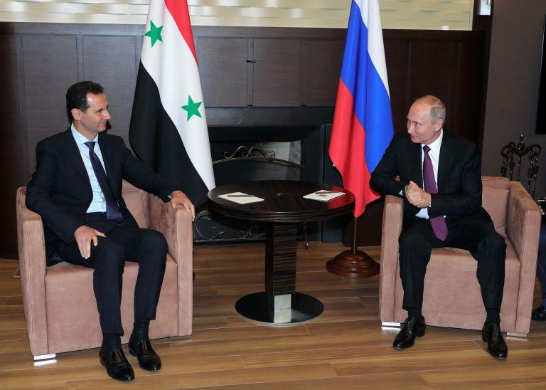 Στη Ρωσία ο Ασαντ για συνομιλίες με τον Πούτιν   tovima.gr