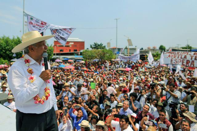 Αmlo: Ο «αριστερός μεσσίας» που θέλει να γίνει πρόεδρος του Μεξικού | tovima.gr