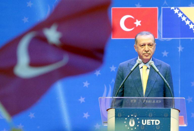 Die Welt: O Ερντογάν αντίπαλος της ΕΕ στα Βαλκάνια | tovima.gr