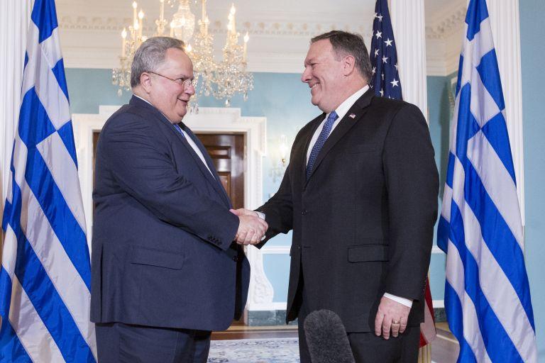 Turkey tops agenda in Kotzias-Pompeo talks | tovima.gr