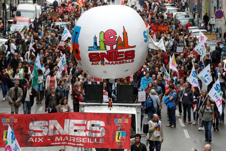 Νέο κύμα απεργιακών κινητοποιήσεων στην Γαλλία | tovima.gr
