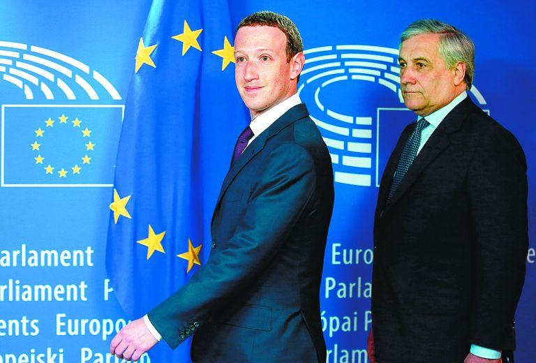 Χωρίς… δεδομένα ο mister Facebook στις Βρυξέλλες | tovima.gr