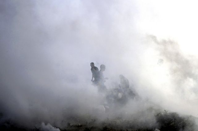 Ισραηλινοί βομβαρδισμοί στη Λωρίδα της Γάζας | tovima.gr