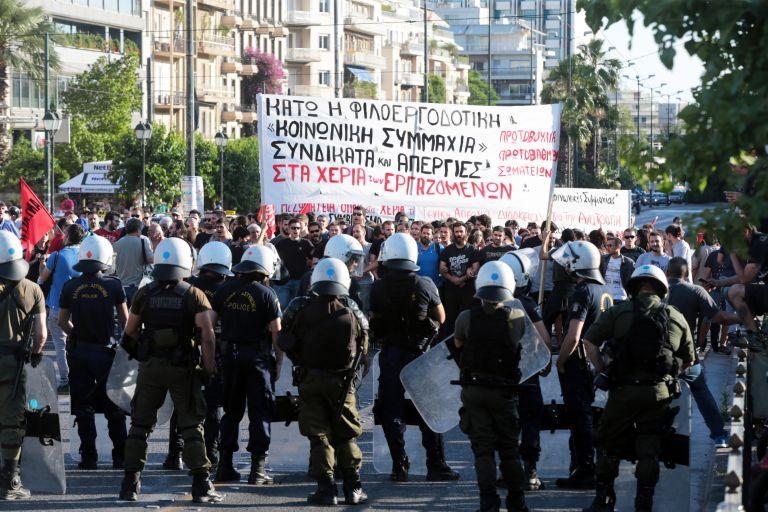 Συγκέντρωση διαμαρτυρίας ενάντια στον ΣΕΒ | tovima.gr