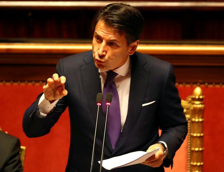 Ιταλία-Κόντε: Θα είμαι ο συνήγορος του ιταλικού λαού | tovima.gr
