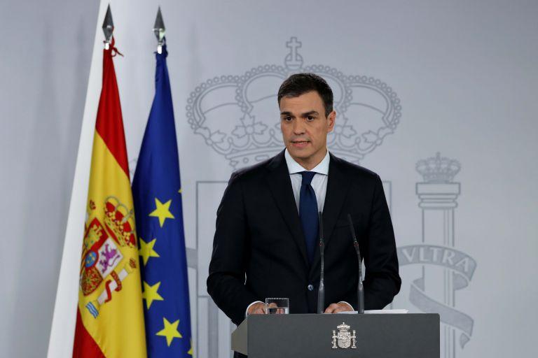 Ισπανία: Παρουσίασε τη νέα φιλοευρωπαϊκή κυβέρνηση o Σάντσεθ | tovima.gr