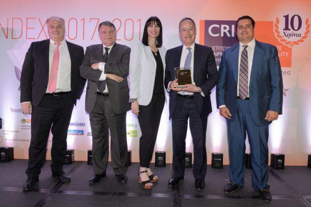 Το πρώτο βραβείο Εταιρικής Κοινωνικής Ευθύνης στην Εθνική Τράπεζα | tovima.gr