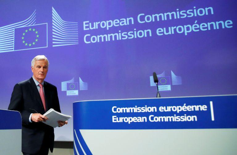 Μπαρνιέ: Μη εφαρμόσιμη η βρετανική πρόταση για τα ιρλανδικά σύνορα | tovima.gr