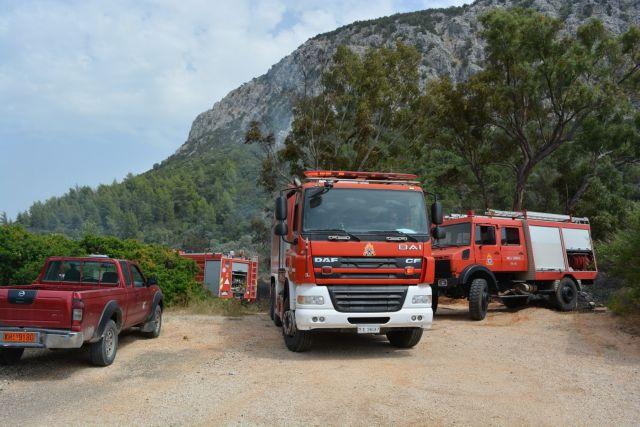 Αρκετά υψηλός ο κίνδυνος πυρκαγιάς την Κυριακή | tovima.gr