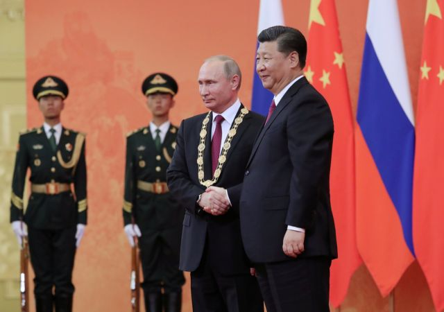 Ενισχύονται οι σχέσεις Ρωσίας – Κίνας | tovima.gr