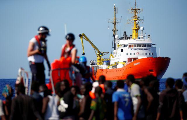 OHE: Έκκληση σε Ιταλία – Μάλτα για τους μετανάστες του πλοίου Aquarius | tovima.gr