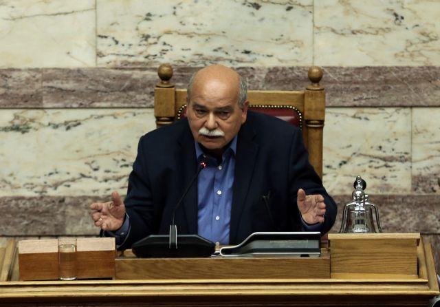 Parliament Speaker denounces Rouvikonas attack | tovima.gr
