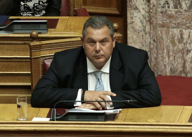 Καμμένος: Δεν ισχύει συμφωνία για το όνομα της πΓΔΜ αν δεν κυρωθεί από τη Βουλή   tovima.gr