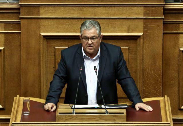Κουτσούμπας: Η Ελλάδα μετατρέπεται σε στόχο σε περίπτωση πολέμου | tovima.gr