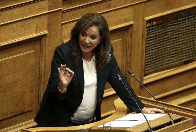 Ντ. Μπακογιάννη: Δεν αποκλείω πρόωρες εκλογές | tovima.gr