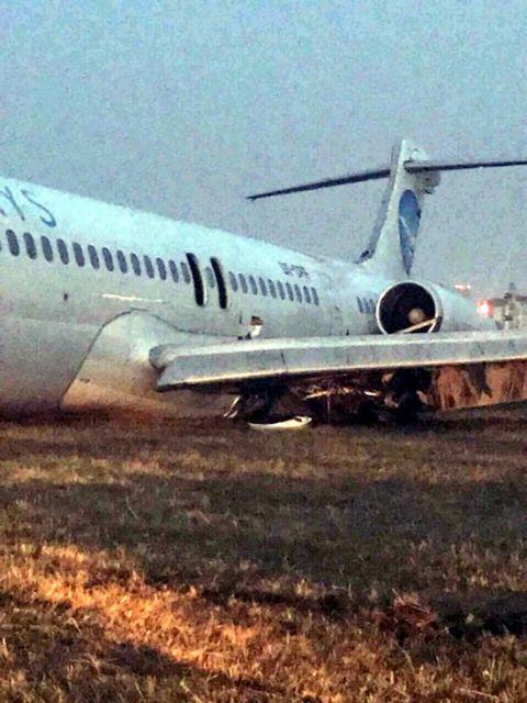 Κίεβο: Αεροσκάφος τυλίχθηκε στις φλόγες | tovima.gr