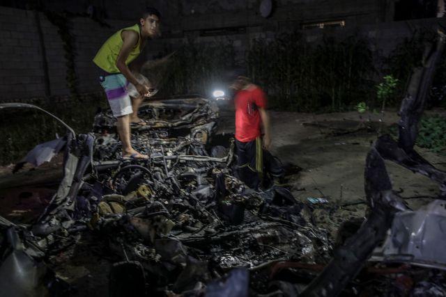 Oι ισραηλινές δυνάμεις έπληξαν 25 «στόχους» στη Γάζα   tovima.gr