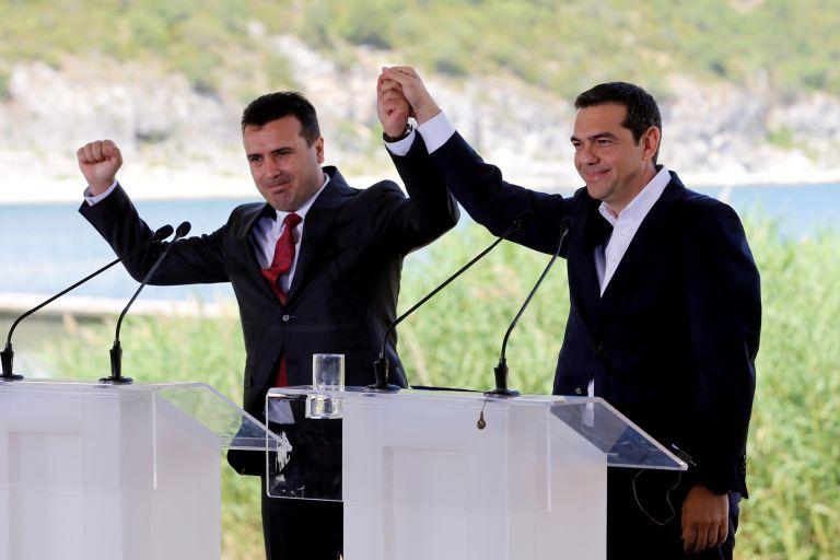 Πανηγυρίζει ο Ζάεφ:  Η συμφωνία προστατεύει τη «μακεδονική» μας ταυτότητα | tovima.gr