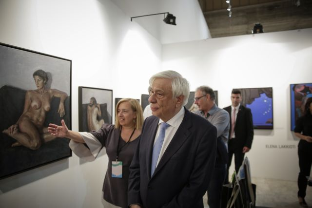 Ο Πρoκόπης Παυλόπουλος εγκαινίασε την 23η Art Athina | tovima.gr